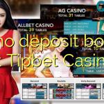 95 no deposit bonus at Tipbet Casino