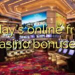 Today's online fresh casino bonuses