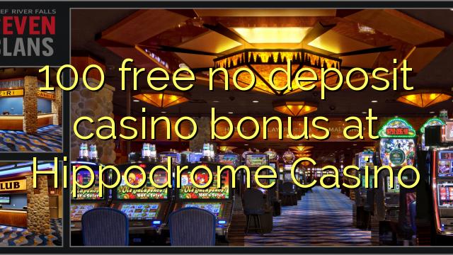 100 free bonus casino