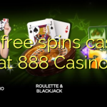 105 free spins casino at 888 Casino