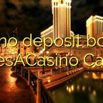 120 no deposit bonus at LesACasino Casino