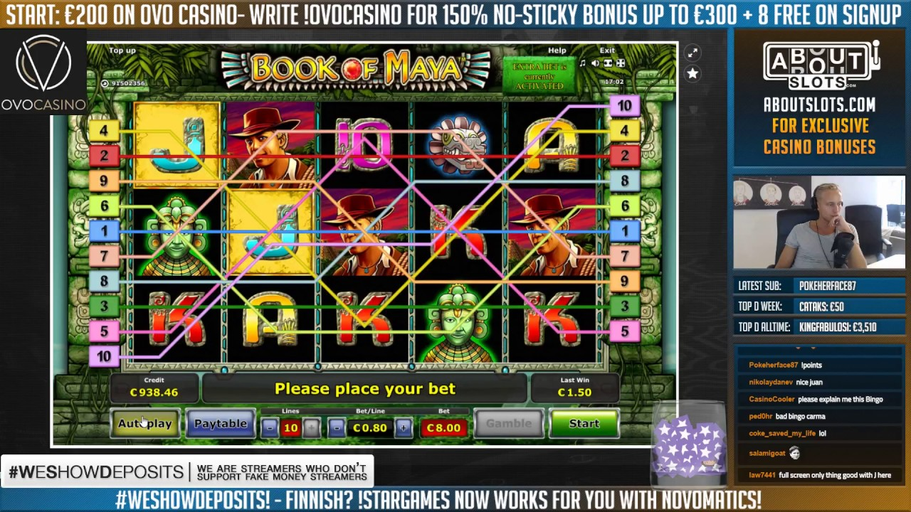 bonus online casino maya symbole
