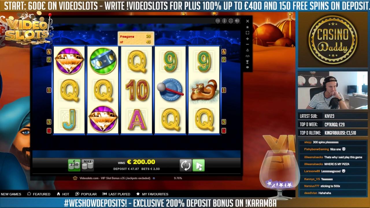 deposit online casino videoslots