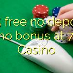 155 free no deposit casino bonus at 7Red Casino