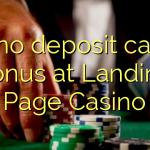 175 no deposit casino bonus at Landing Page Casino