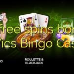 20 free spins bonus at Vics Bingo Casino