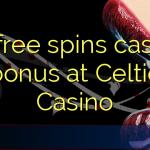 35 free spins casino bonus at Celtic Casino
