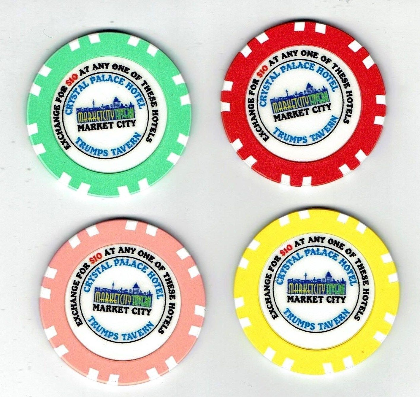 Names of roulette chips