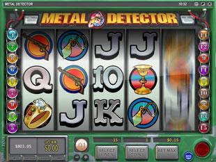 Detektor kovů výherní automat online hra
