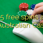45 free spins at AllAustralian Casino