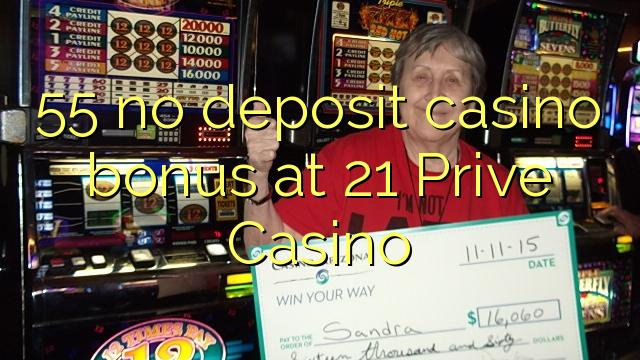 21 prive casino bonus code