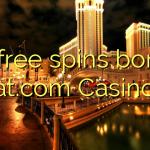 70 free spins bonus at.com Casino