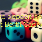 75 no deposit bonus at Bertil Casino