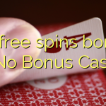 80 free spins bonus at No Bonus Casino
