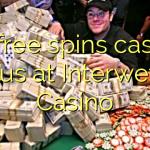 85 free spins casino bonus at Interwetten Casino