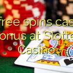 85 free spins casino bonus at Slotter Casino