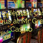 85 no deposit casino bonus at Mr Green Casino