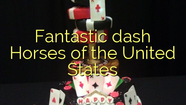 Fantastic dash Horses of the United States