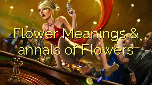Bunga Perkataan & riwayat Bunga