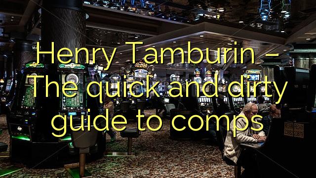 Henry Tamburin - The rusuh jeung jorok pituduh ka comps