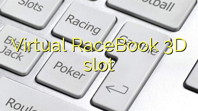 Virtuele RaceBook 3D slot