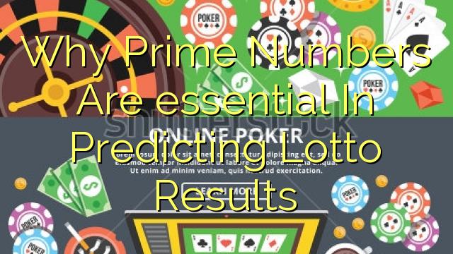 Waarom Prime Numbers zijn essentieel bij het voorspellen van Lotto-resultaten