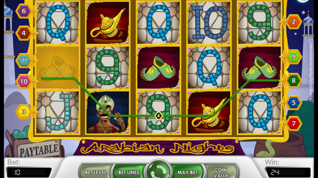 Arabian Tales free slot game