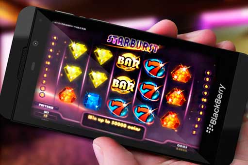 Online Blackberry Mobile Casino síður