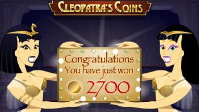 Cleopatra mince zdarma slot hry