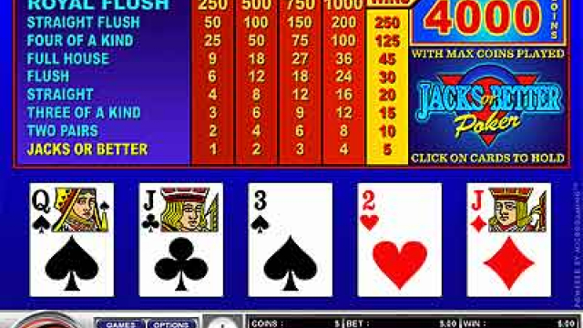 Vyf Draw Poker slot