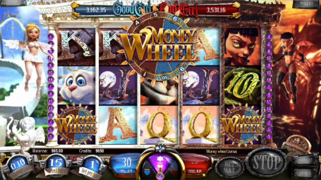 Good Girl, Bad Girl gioco di slot