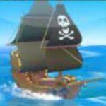 Simbol Bonus dari permainan kasino Jolly Roger Jackpot