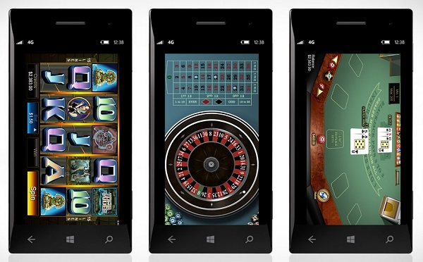 witryn internetowych, Windows Mobile Casino