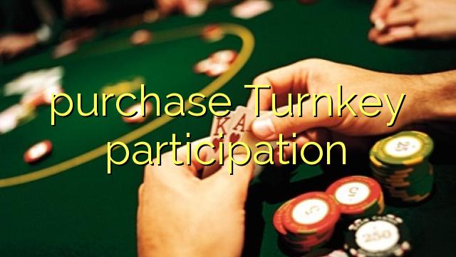Compra a participazione turnkey