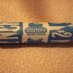 Vintage Boomtown inn Casino Las Vegas NV $2 Sealed Roll of Nickels Ex
