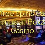 105 free spins casino bonus at Box24 Casino