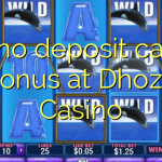 105 no deposit casino bonus at Dhoze Casino