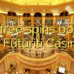 115 free spins bonus at Futuriti Casino