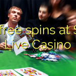125 free spins at Spin Live Casino