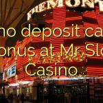 125 no deposit casino bonus at Mr Slot Casino