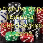 130 free no deposit bonus at WickedJackpots Casino