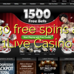 130 free spins at 1Live Casino
