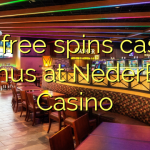 130 free spins casino bonus at NederBet Casino