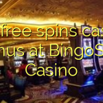 135 free spins casino bonus at BingoSKY Casino