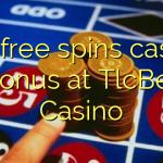 135 free spins casino bonus at TlcBet Casino