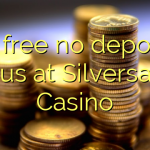 15 free no deposit bonus at Silversands Casino