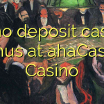 15 no deposit casino bonus at ahaCasino Casino