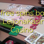 150 free spins bonus at LeijonaKasino Casino