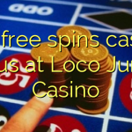 150 free spins casino bonus at Loco Jungle Casino