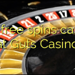 160 free spins casino at Guts Casino